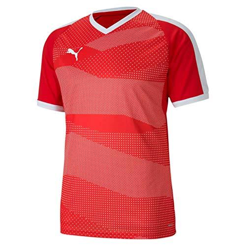 PUMA Teamfinal Indoor Jersey Camiseta, Hombre, Red White, XL