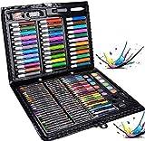 Malkasten für Kinder, Legendog 150 Pcs Buntstifte Set | Malset Kinder | Kinderspielzeug | Geschenk für Kinder | Farben Set für Kinder (150 Pcs)
