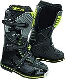 Shot K10 Black 2.0 Bambini Motocross Stivali Nero/Grigio 32