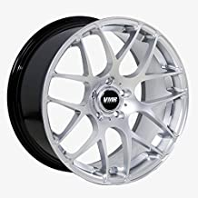 VMR V710 Hyper Silver Wheel with Painted Finish (18 x 9.5 inches /5 x 120 mm, 33 mm Offset)