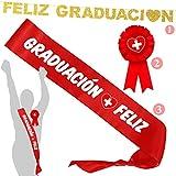 Inedit Festa Graduación enfermería Banda Graduado Graduada Banda Honorífica Graduación, escarapela Sanidad y Guirnalda Feliz Graduación