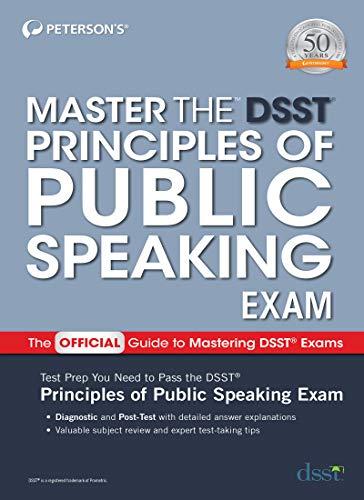 Master the DSST Principles of Public Speaking Exam