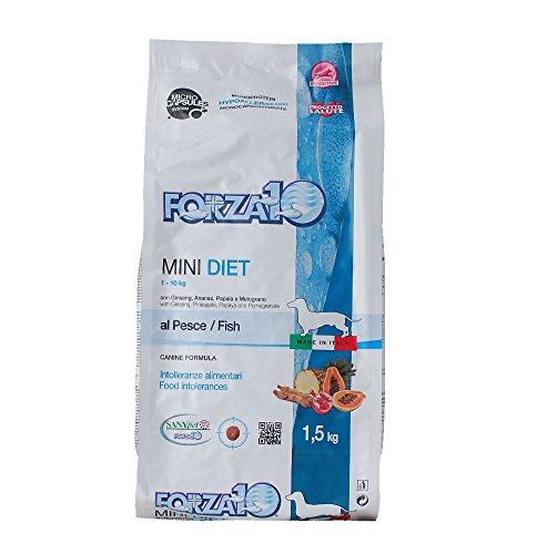 FORZA Lot de 10 Mini Diet Poisson Sec pour Chien 1,5 kg