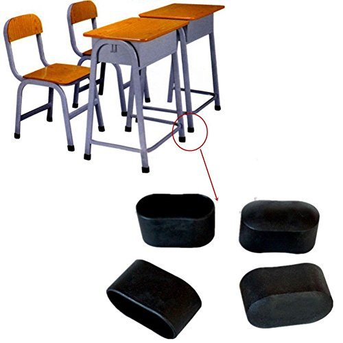 Seasofbeauty 20 Stück Endstücke für Rohre, Stuhl, Tisch.