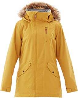 Padded Ski Jacket, Snowproof, Snowskirt, Adjustable Fit - for Winter Skiing & Snowboarding, Women's Waterproof Windproof Outdoor Coats, Thermal Parka Jacket, Ideal for Winter
