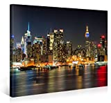 Picanova Illuminated Manhattan New York 100x75cm –
