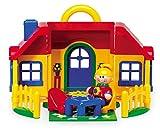 Tolo 89738 Spielhaus aufklappbar mit Figur und Zubehör, First Friends, ab 12 Monaten, ca. 20 x 20 x...