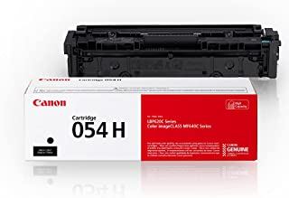 Canon Genuine Toner, Cartridge 054 Black, High Capacity (3028C001) 1 Pack, for Canon Color Image CLASS MF641Cdw, MF642Cdw,...