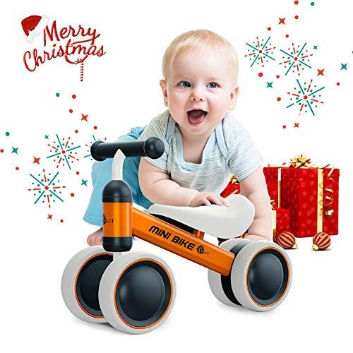 YGJT Draisienne Bébé 1 an Vélo Bébé 10-18 Mois Vélo Enfant sans Pédales Jouet Premier Cadeau...