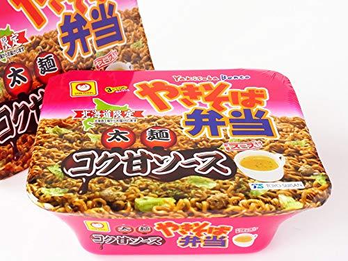 マルちゃんやきそば弁当太麺コク甘ソース味12食入