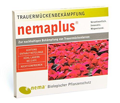 nemaplus® SF Nematoden zur Bekämpfung von Trauermücken - 12 Mio. für 24m² Blumenerde oder 120 Pflanzen
