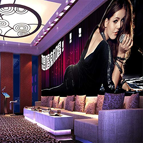Vlies wallpaper_3d behang achtergrond muur ktv thema hotel behang bar vlies naadloze fabriek fotobehang 3d effect behang behang woud vintage 300 x 210 cm.