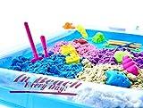 Mesa de arena para jugar arena Arena para niños Arena para niños Knet Sand Arena mágica Juego de arena de 1,5 kg con arenero