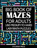 Best Big Books Of Mazes - Big Book of Mazes for Adults: 180 Medium Review