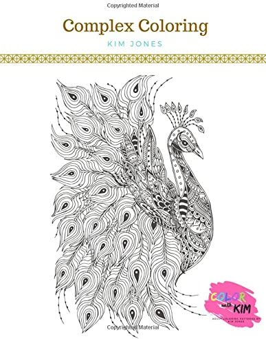 COMPLEX COLORING A Stunning Intricate Coloring Book for Adults product image