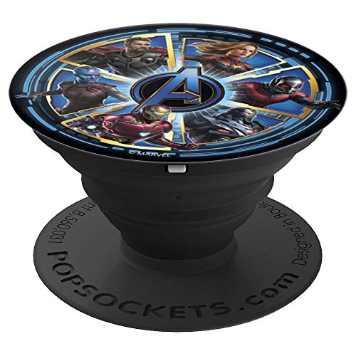 Marvel Avengers Endgame Circle of Heroes Team - PopSockets Grip and Stand for Phones and Tablets