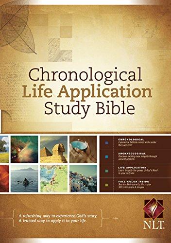 NLT Chronological Life Application Study Bible (English Edition)