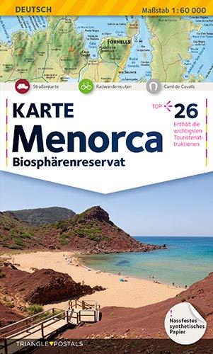 Menorca, landkarte: Landkarte (Mapes)