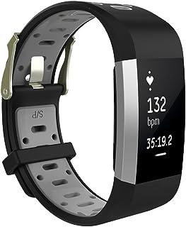 0b1939ba6 XIHAMA pulsera para Fitbit Charge 2 correa banda, deportes al aire libre  banda, correa