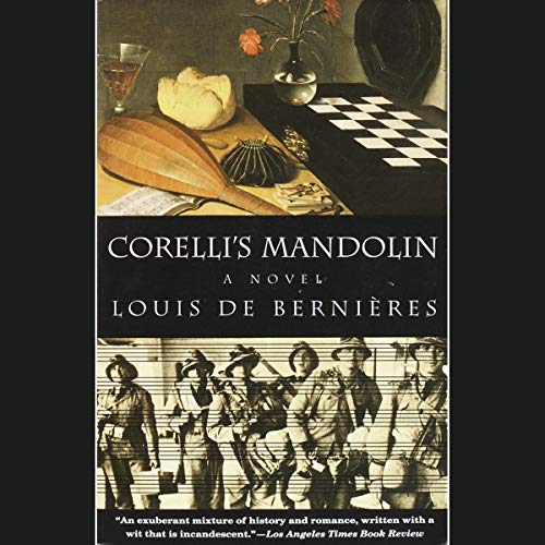 Corelli's Mandolin audiobook cover art