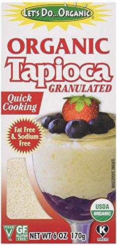 Lets Do, Tapioca Granules Organic Gluten Free, 6 Ounce