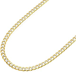 Best 18k solid gold cuban bracelet Reviews