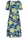 King Louie Betty Dress Coronado - Vestido para mujer Peacoat Blue XXL