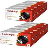 cartridgex 10x Compatible cartucho de tóner de repuesto para OKI 44992402negro Oki B401B401d B401dn MB441MB441dn MB451MB451dn MB451dnw MB451W