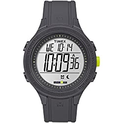 small Timex TW5M14500 Iron Man Essential 30 Men's Watch Black / Lime Silicon
