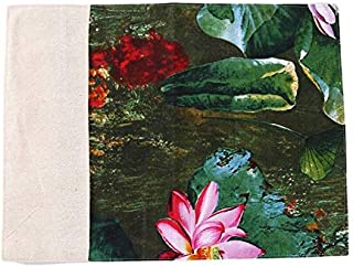 Mats & Pads - Lotus Print Placemat Tea Mat Table Cloth Lotus Modern New Chinese Hotel Clubhouse Napkin Table Decoration Hi...