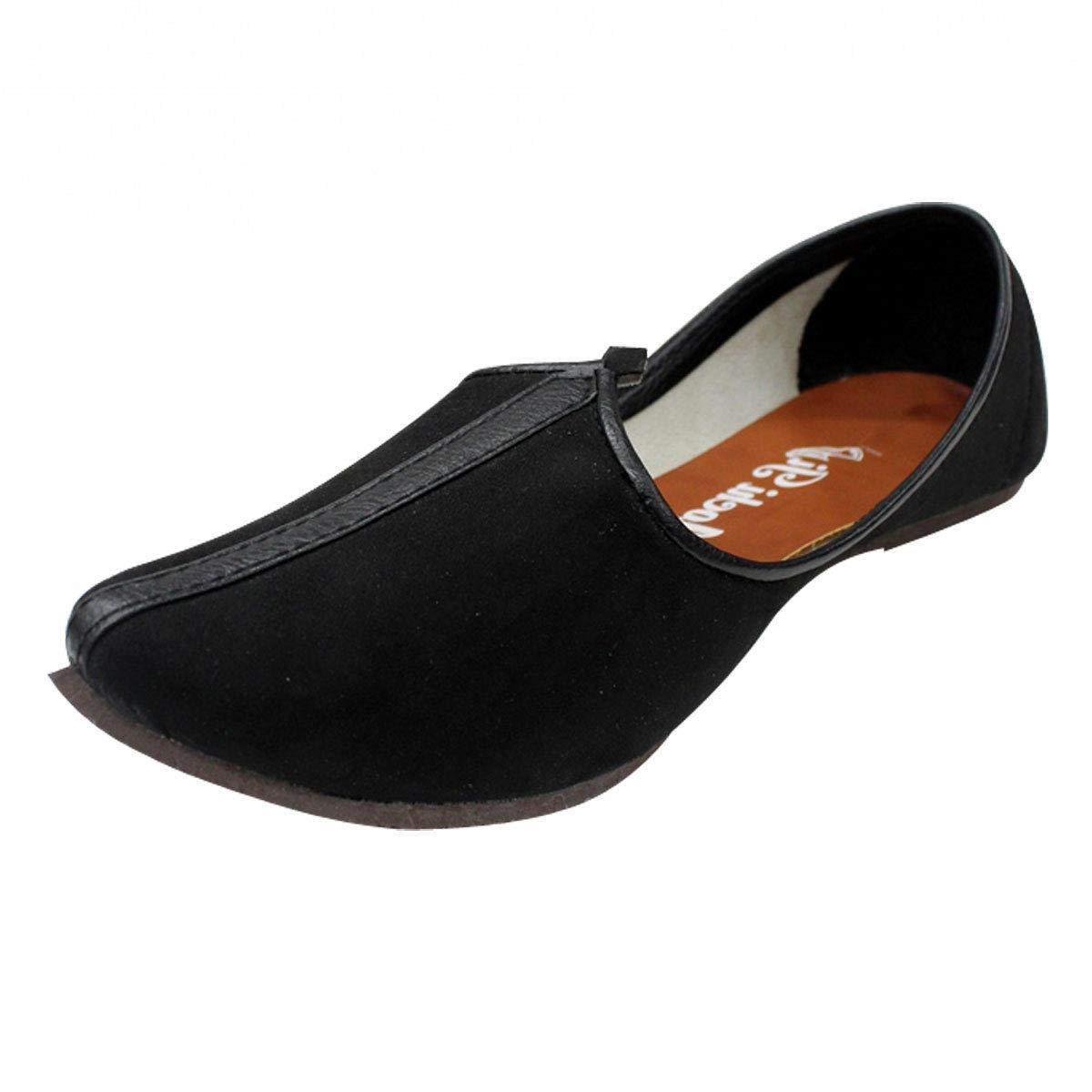 Step n Style Mens Sherwani Shoes Punjabi Jutiis Pakistani Khussa Mens Nagra Mojari