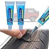 Rubber Tire Repair Artifact Glue,Pegamento de Reparación de Neumáticos,Sellador de Neumáticos