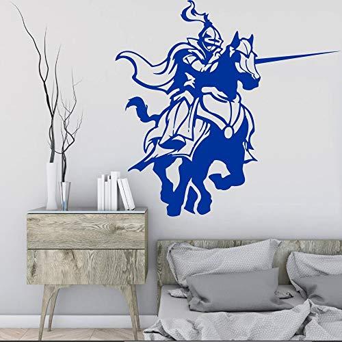 Geiqianjiumai Middeleeuwse ridders paard sticker fighting game room muur decoratie huisdecoratie muurschildering