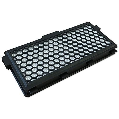 Staubbeutel24 SBMIE50 Filtre HEPA pour aspirateur Miele SF-HA50, 09616280, S4, S5, S6, S8, Compact C1, Complete C2 C3 Noir