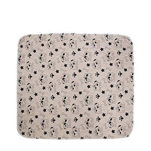 YNSNWBD Almohadilla de cateterismo lavable para mascotas, colchón impermeable para perro, reutilizable, almohadilla de absorción rápida