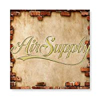 エア·サプライ Air Supply 木製 額縁 フォトフレーム 壁掛け 木製 横縦兼用 絵を含む 40×40cm