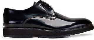 5084-636 KEVA-Spaz Siyah 301 Nevzat Onay Bağcıklı Siyah Günlük Deri Erkek Ayakkabı
