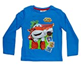 Super Wings - Camiseta de manga larga - Casual - Manga Larga - para niño azul 6 años