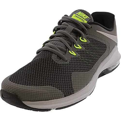 NIKE Air MAX Alpha Trainer, Zapatillas de Running para Hombre, Mehrfarbig (Dark Grey/Metallic Silver-Cool Grey 006), 42 EU