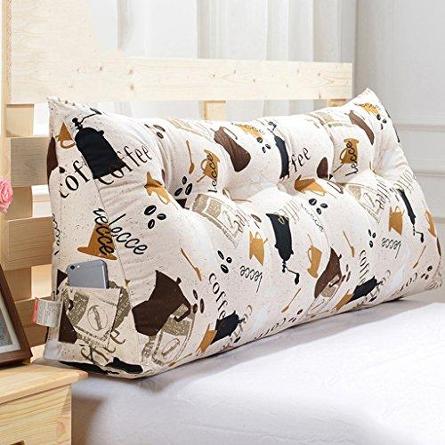 Coussins Mmm- Housse de de lit de de lit Triangulaire Soft Case Lavable (Couleur : #1, Taille : 150cm)