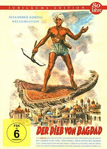 Der Dieb von Bagdad - Mediabook Cover A - limitiert auf 444 Stück (+ Booklet) [Blu-ray]