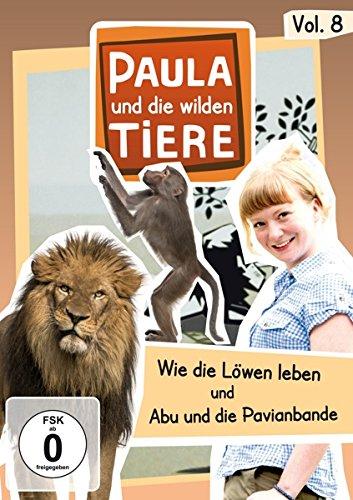 Paula und die wilden Tiere, Vol. 8: Wie die Löwen leben/Abu und die Pavianbande