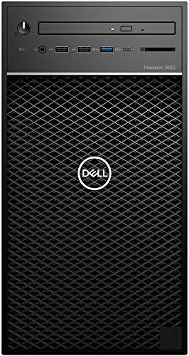DELL Precision 3630 Torre Stazione di Lavoro 3,2 GHz Intel Core i7 di ottava generazione i7-8700, Nero