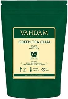Green Tea Masala Chai - 200 g (Juego de 2) - Mezcla perfecta