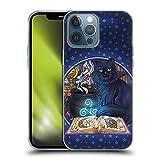 Head Case Designs Licenciado Oficialmente Brigid Ashwood Gato Negro Mágico Gatos Carcasa de Gel de Silicona Compatible con Apple iPhone 13 Pro MAX
