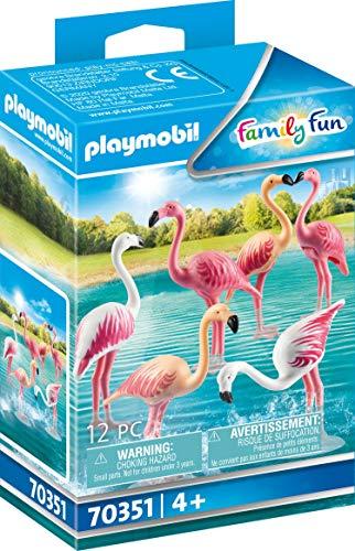PLAYMOBIL Family Fun 70351 Flamingoschwarm, ab 4 Jahren