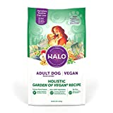 Halo Vegan Dry Dog Food - Premium and Holistic Garden of Vegan Recipe - 10 Pound Bag - Sustainably Sourced Adult Dry Dog Food - Non-GMO and Made in the USA
