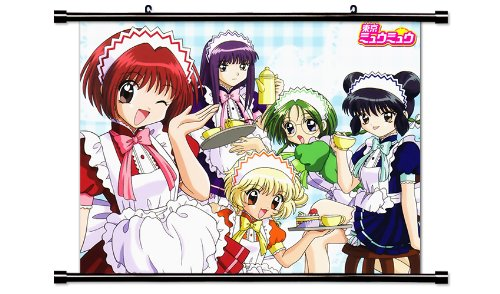 Tokyo Mew Mew Anime Fabric Wall Scroll Poster (32' x 26') Inches. [WP]-Tokyo Mew-14 (L)