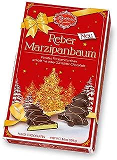 Christmas Chocolates (marzipan tree) 102g/3.6oz.