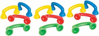 Fun Express Reading Phones with Auditory Feedback, Various Colors, (IN-13633524), (12 Pack)